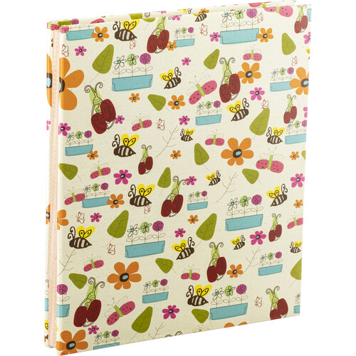 """Pioneer Photo Albums SJ100 Large-Page Scrapbook (50 Sheets, 11 x 14"""", Doodles)"""