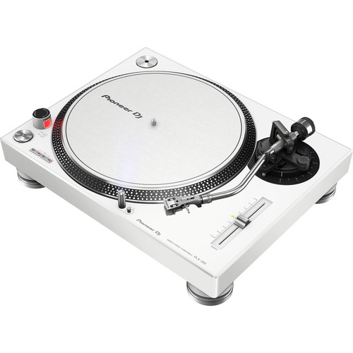 Pioneer DJ - PLX-500-W High-Torque, Direct-Drive Turntable (White)
