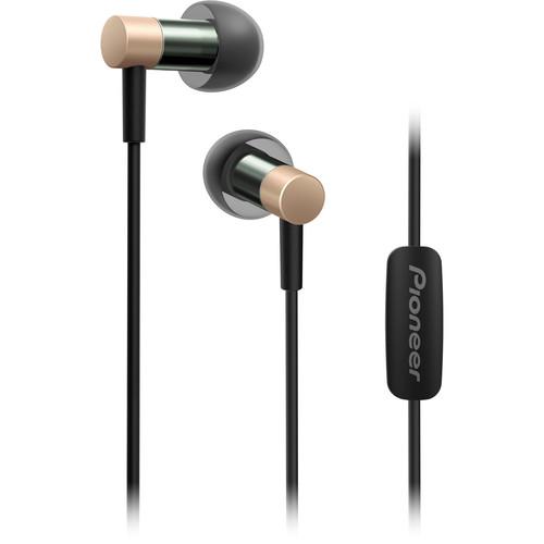 Pioneer SE-CH3T Hi-Res Audio In-Ear Headphones (Gold)