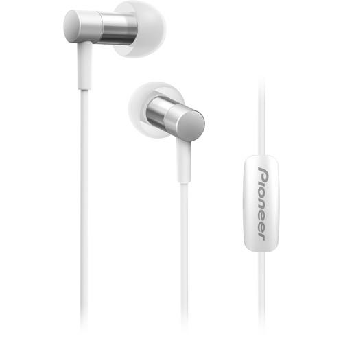 Pioneer SE-CH3T Hi-Res Audio In-Ear Headphones (Silver)