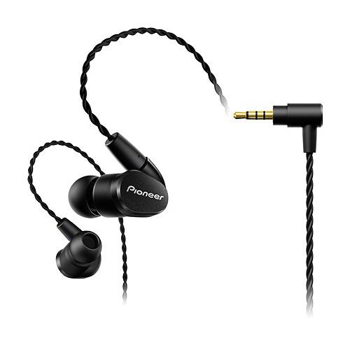 Pioneer SE-CH5BL Balanced In-Ear Headphones (Black)