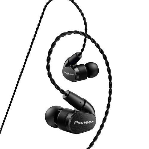 Pioneer SE-CH5T In-Ear Headphones (Black)