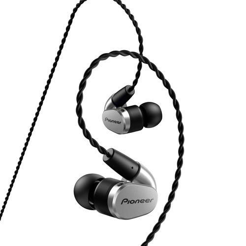 Pioneer SE-CH5T In-Ear Headphones (Silver)
