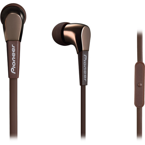 Pioneer SE-CL722T In-Ear Stereo Headphones (Brown)