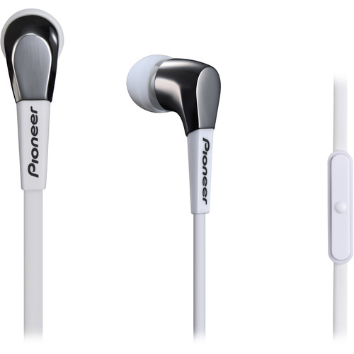Pioneer SE-CL722T In-Ear Stereo Headphones (White)