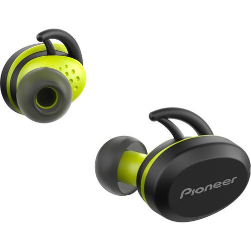 Pioneer E8 Truly Wireless In-Ear Headphones (Black/Yellow)