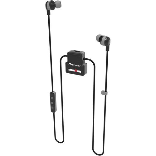 Pioneer SE-IM5BT-H IRONMAN Wireless Sports In-Ear Earphones (Gray)