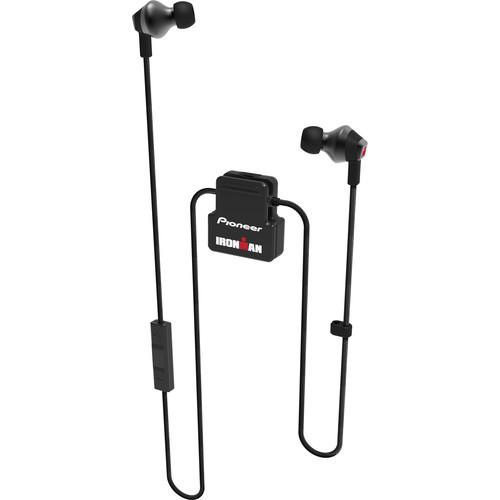 Pioneer SE-IM6BT-B IRONMAN Wireless Sports In-Ear Earphones with aptX Audio (Black)