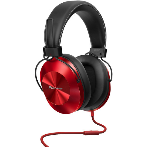 Pioneer SE-MS5T-R High-Resolution Stereo Headphones (Red)