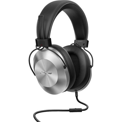 Pioneer SE-MS5T-S High-Resolution Stereo Headphones (Silver)
