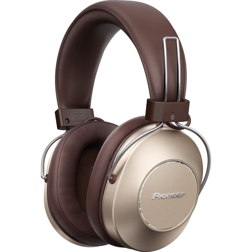 Pioneer S9 Wireless Noise-Canceling Over-Ear Headphones (Gold)