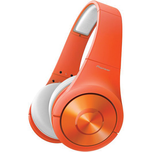 Pioneer Superior Club Sound SE-MX7 Dynamic Stereo Headphones (Matte Orange)