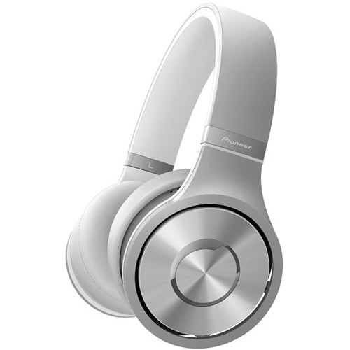 Pioneer Superior Club Sound SE-MX9 Dynamic Stereo Headphones (Bright Silver)