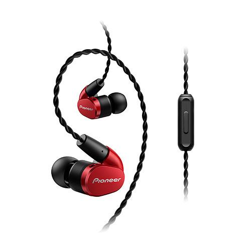 Pioneer SE-CH5T In-Ear Headphones (Red)