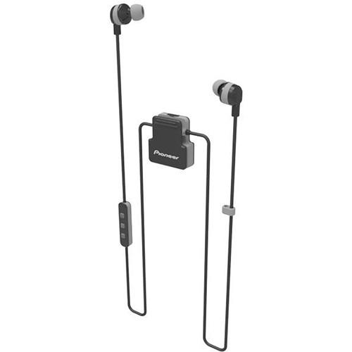 Pioneer ClipWear Active Bluetooth Headphones (Black/Gray)