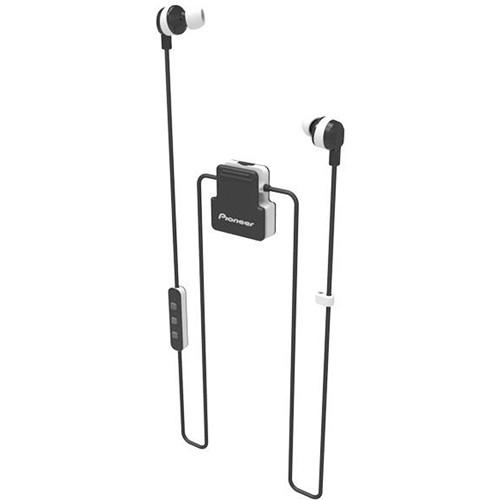 Pioneer ClipWear Active Bluetooth Headphones (Black/White)