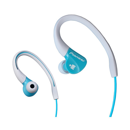 Pioneer SE-E3M-GR IRONMAN Sports Earphones (Aqua)