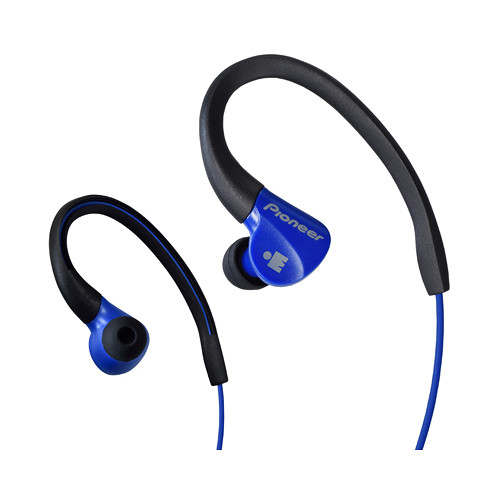 Pioneer SE-E3M-L IRONMAN Sports Earphones (Blue/Black)