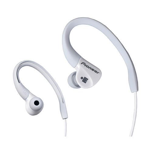 Pioneer SE-E3M-W IRONMAN Sports Earphones (White)