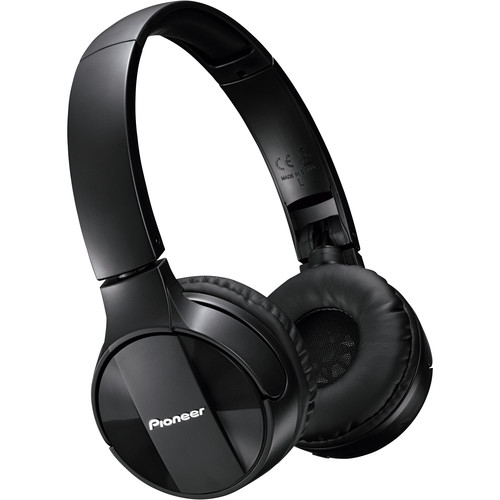 Pioneer SE-MJ553BT Bluetooth Headphones (Black)