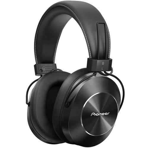 Pioneer SE-MS7BT Bluetooth Headphones (Black)