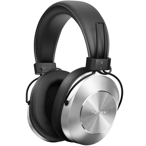 Pioneer SE-MS7BT Bluetooth Headphones (Silver)
