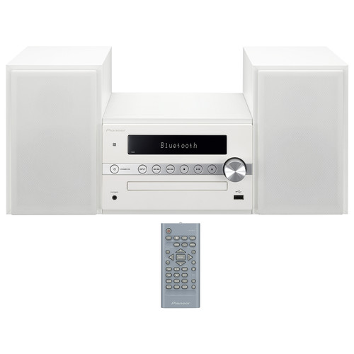 Pioneer X-CM56W 30W Bluetooth Wireless Music System (White)