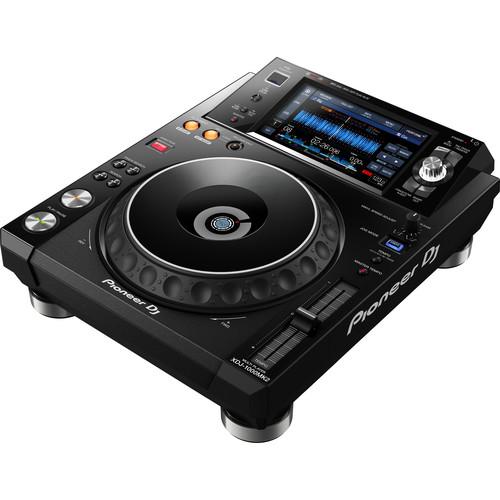 Pioneer DJ XDJ-1000MK2 - High-Performance Multi-Player DJ Deck with Touch Screen