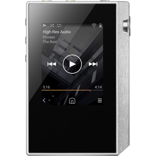 Pioneer XDP-30R Portable High-Resolution Digital Audio Player (Silver/White)