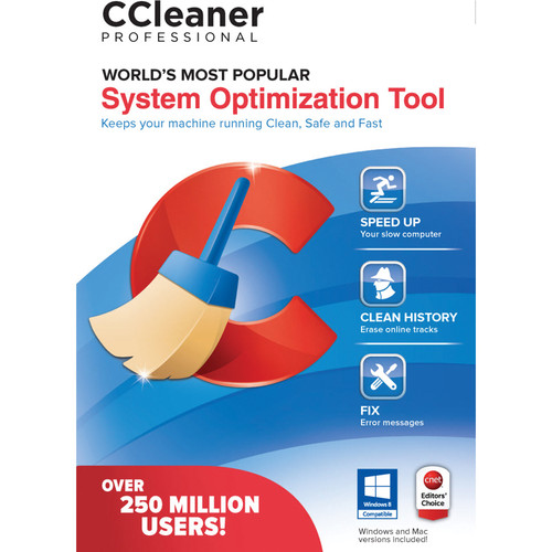 Piriform CCleaner Professional (1-PC, Download)