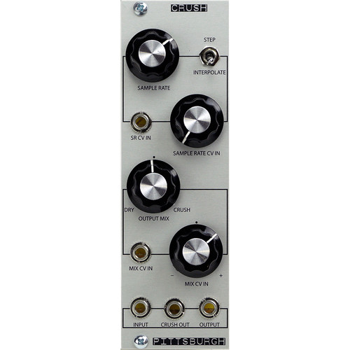 Pittsburgh Crush - Analog Waveform Decimator - Eurorack Module