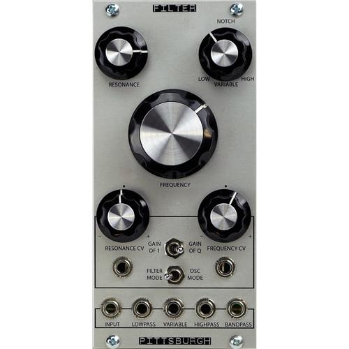 Pittsburgh Modular Filter - Classic Multi-Mode Analog Filter - Eurorack Module