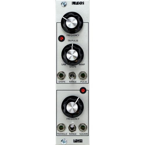 Pittsburgh Modular LFO2 - Dual Low-Frequency Oscillator - Eurorack Module