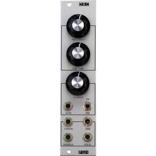 Pittsburgh Oscillator V2 - Utility Analog Oscillator - Eurorack Module