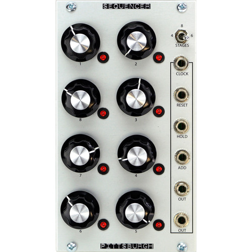 Pittsburgh Sequencer - 8-Step Assignable Voltage Sequencer - Eurorack Module