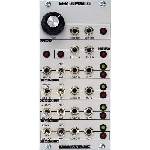 Pittsburgh Time Runner - Logical Pattern Generator - Eurorack Module
