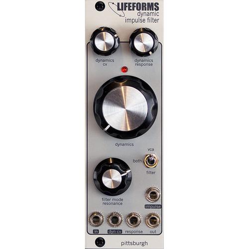 Pittsburgh Modular Lifeforms Dynamic Impulse Filter Variable Response Low-Pass Gate Eurorack Module