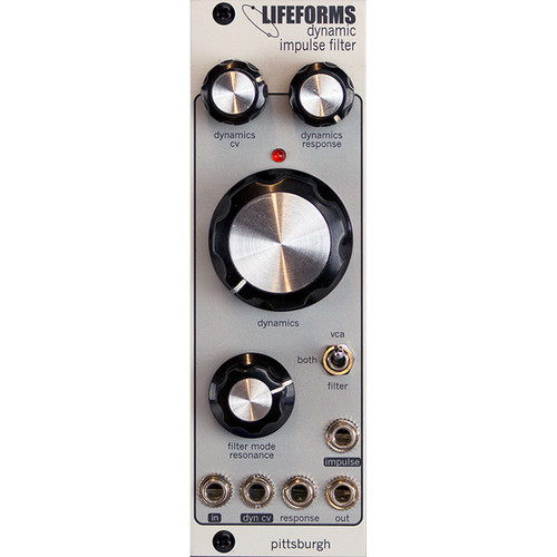 Pittsburgh Lifeforms Dynamic Impulse Filter - Variable Response Lowpass Gate - Eurorack Module