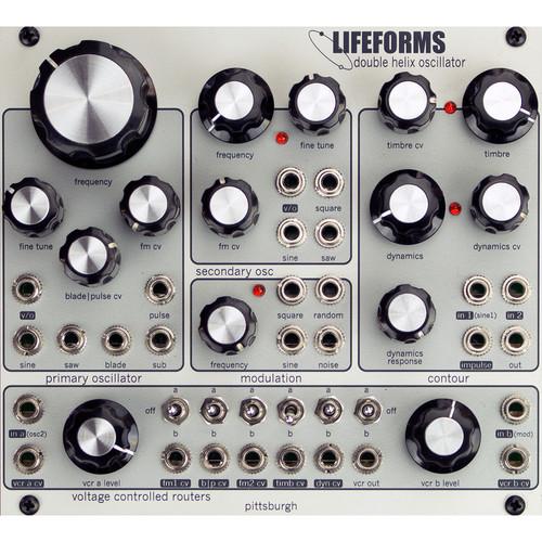 Pittsburgh Modular Lifeforms Double Helix Oscillator Complex Matrix Oscillator Eurorack Module