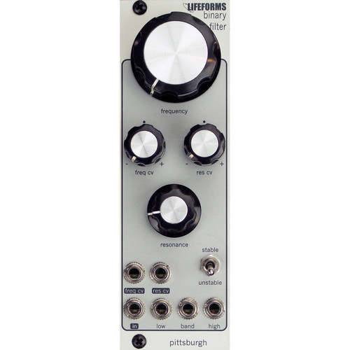 Pittsburgh Lifeforms Binary Filter - Classic Multi-Mode Filter - Eurorack Module