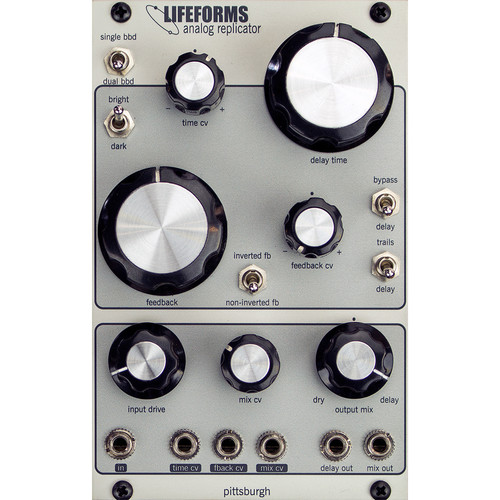 Pittsburgh Lifeforms Analog Replicator - BBD Analog Delay - Eurorack Module