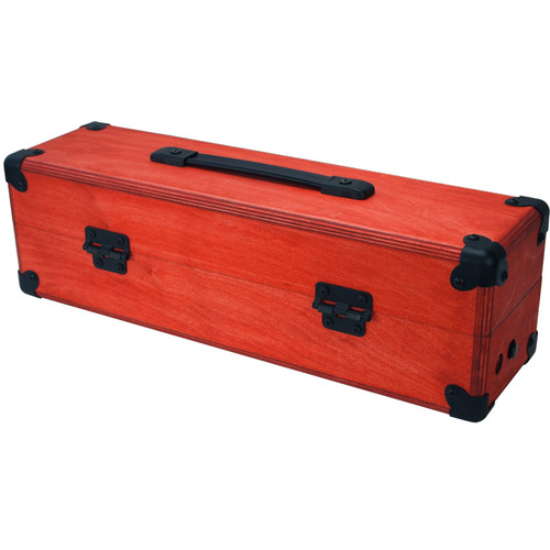 Pittsburgh Move [104] - Mobile Eurorack Modular Synthesizer Case (Red)
