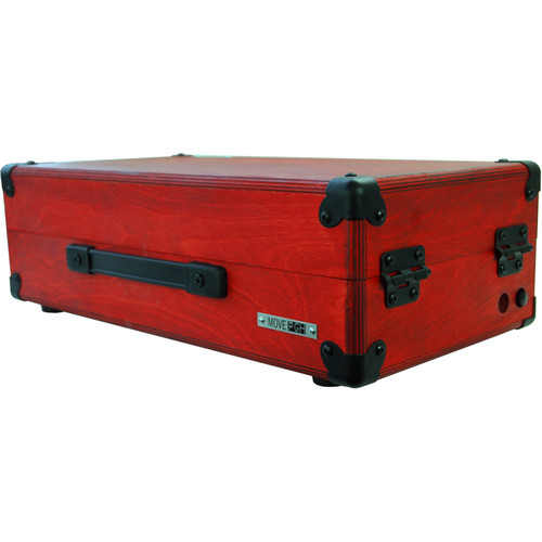 Pittsburgh Move [208] - Mobile Eurorack Modular Synthesizer Case (Red)