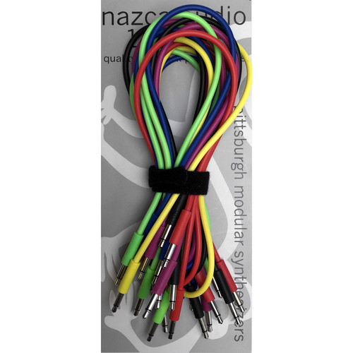 Pittsburgh Modular Nazca Noodles Patch Cable Kit (12-Pack)