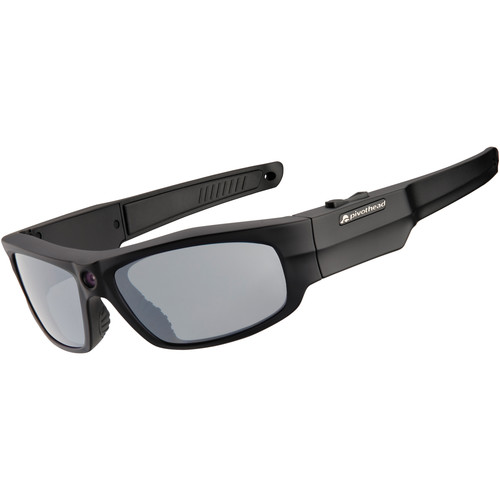 Pivothead Durango Matte Black 1080p Video Recording Sunglasses
