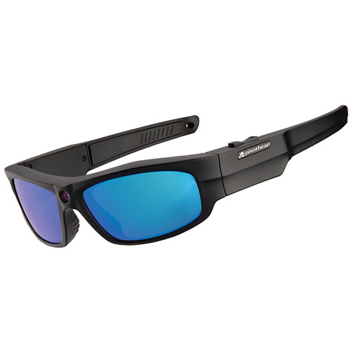 Pivothead 1080p Video Recording Sunglasses (Durango Glacier Blue)