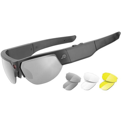 Pivothead 1080p Video Recording Sunglasses (Recon Black Jet)