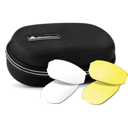 Pivothead Kudu Glasses Case and Lens Set