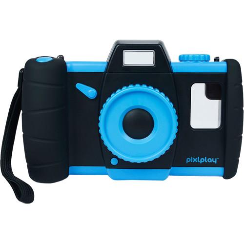 Pixl Toys Pixlplay Kids Smartphone Camera Case (Blue)
