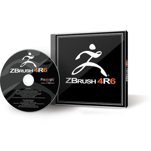 Pixologic ZBrush 4R6 Software for Mac (1-User Serialized License, DVD)